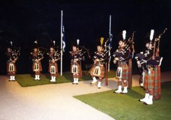 Pipers at Turnberry